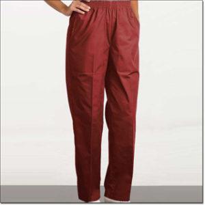 7021 Sangria Ladies' Fashion Slacks – Fashion Poplin