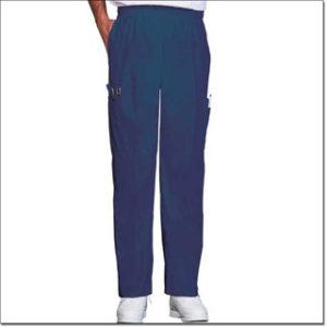 7438 Navy Unisex Fashion Poplin Ultimate Pants